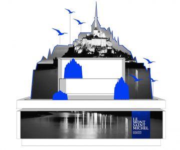 Sweet Pea, pour le Centre des Monuments Nationaux (Mont Saint Michel)